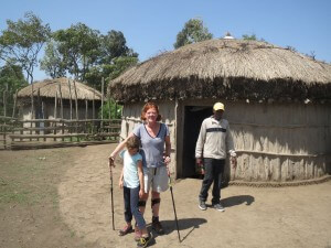 We spent a night in a Boma in a Maasai village near Arusha.