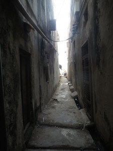 Backstreets of Lamu.