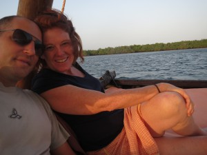 We spent our 20th anniversary in Lamu.  It's starting to look serious!