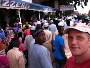 Muslim festival in Lamu.