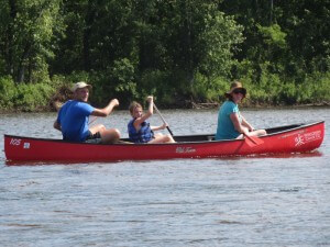 Canoeing the Wisconsin river is one of our new favorite things to do.
