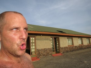 It was hot in Turkana!  I didn't wear a shirt for 4 days!