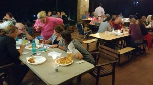 Friends organised a trivia night at our community pavilion.