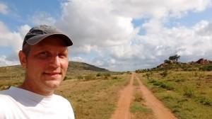 A 30km run in a reserve south of Nairobi.