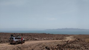 First view of Turkana!