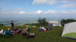 Satellite camp.