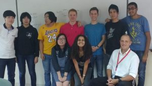 My Math HL class - a great group of kids - I'm going to miss them!