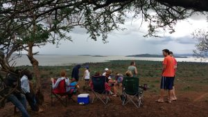 Sundowners in Baringo.