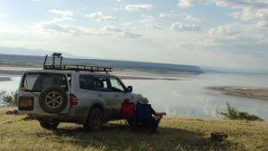Weekend trip to Lake Magadi.