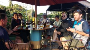 Wednesday afternoons always start with a bike ride or run and conclude at our favorite local pub (Freetown) in Loresho.