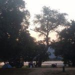 Our spectacular campsite in Mana Pools Zimbabwe.  We had Elephants, hyena, a lion and a leopard right in camp.