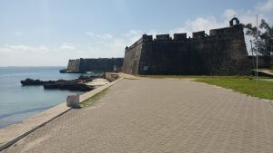 Fortress at Ilha de Moz.