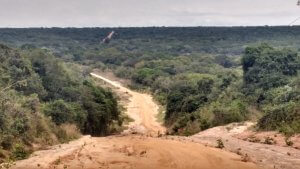 The road from northern Moz to southern Tanzania is remote!